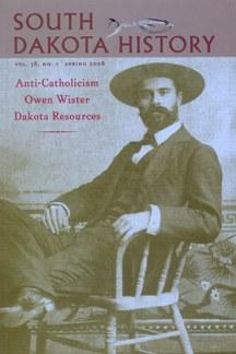 South Dakota History, volume 38 number 1