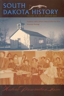 South Dakota History, volume 38 number 4