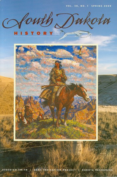 South Dakota History, volume 39 number 1