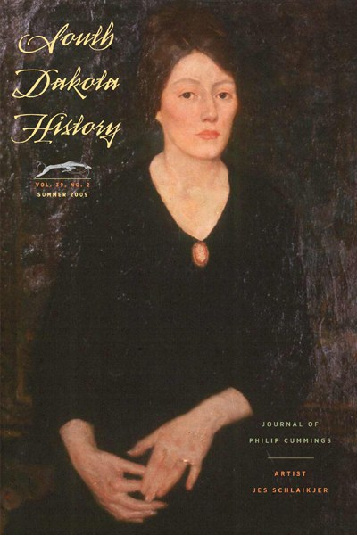 South Dakota History, volume 39 number 2