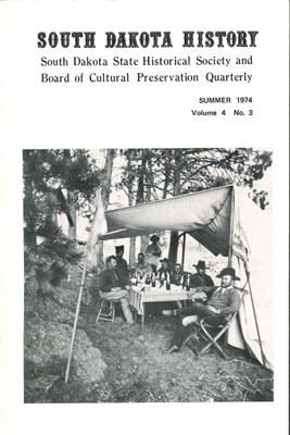South Dakota History, volume 4 number 3