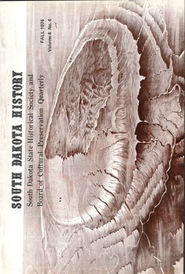 South Dakota History, volume 4 number 4