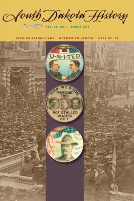 South Dakota History, volume 40 number 1