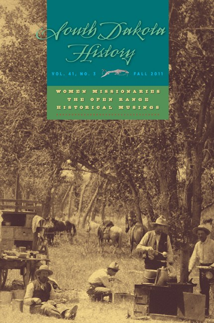 South Dakota History, volume 41 number 3