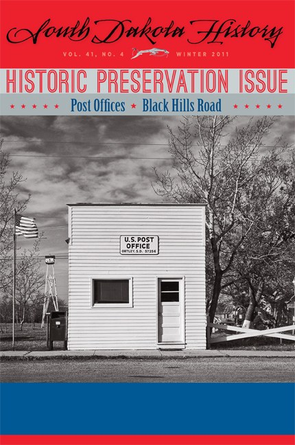 South Dakota History, volume 41 number 4