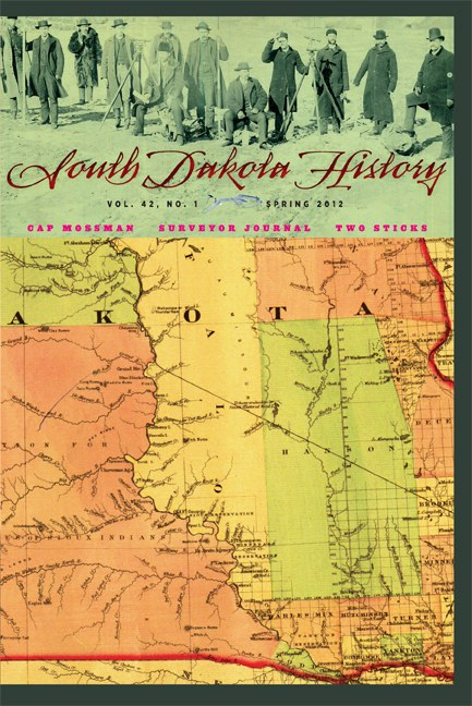 South Dakota History, volume 42 number 1
