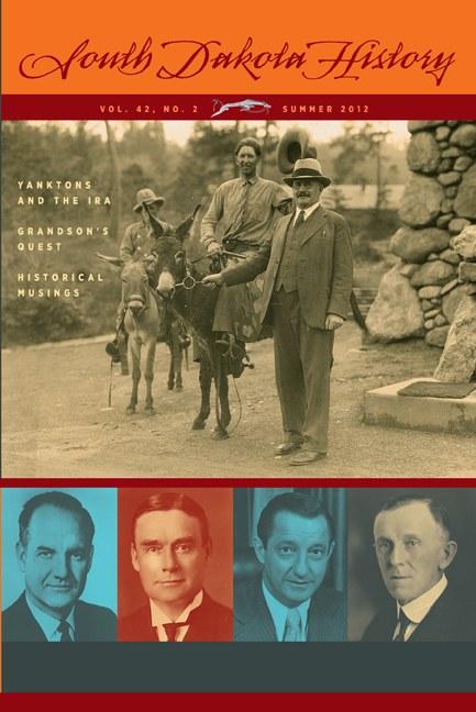 South Dakota History, volume 42 number 2