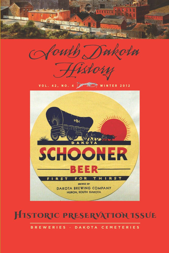 South Dakota History, volume 42 number 4
