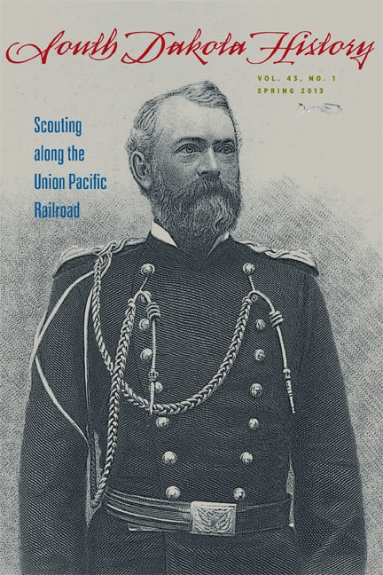 South Dakota History, volume 43 number 1