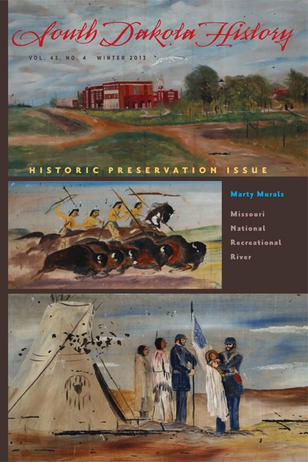 South Dakota History, volume 43 number 4