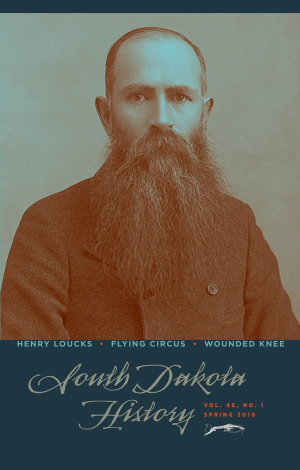 South Dakota History, volume 46 number 1