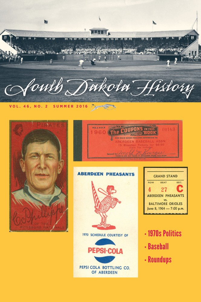 South Dakota History, volume 46 number 2