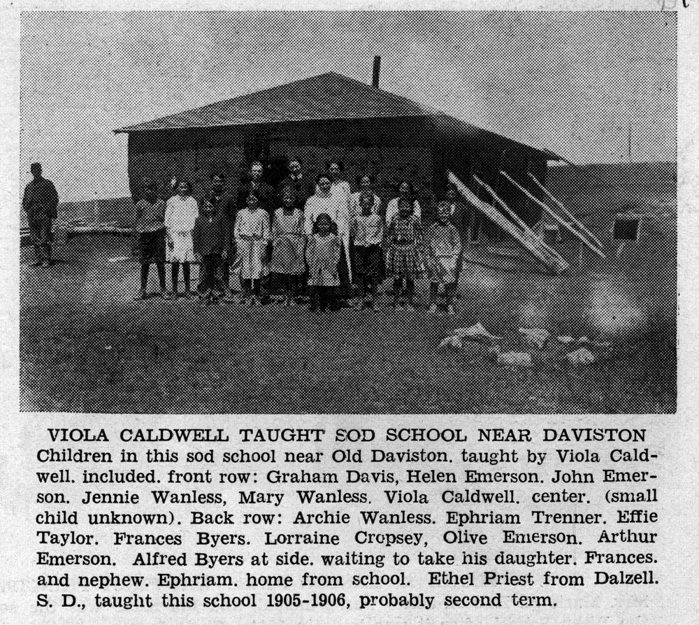 It's Weathered Many a Storm: The Enduring Sod House in Northwest South Dakota