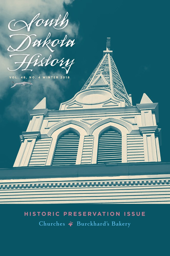 South Dakota History, volume 48 number 4