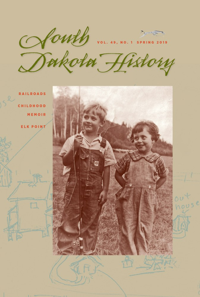 South Dakota History, volume 49 number 1