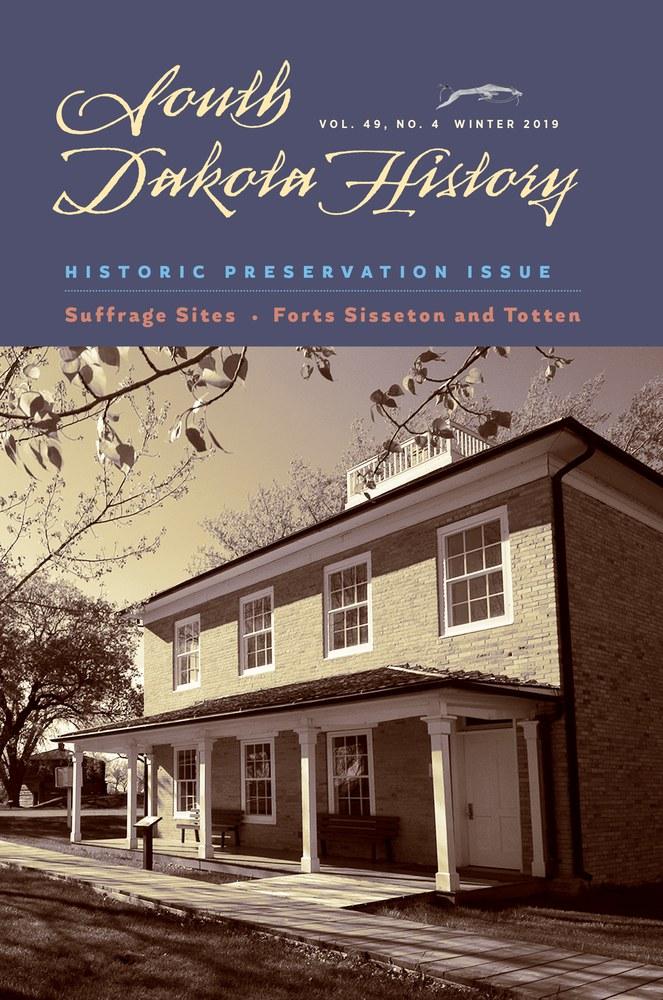 South Dakota History, volume 49 number 4