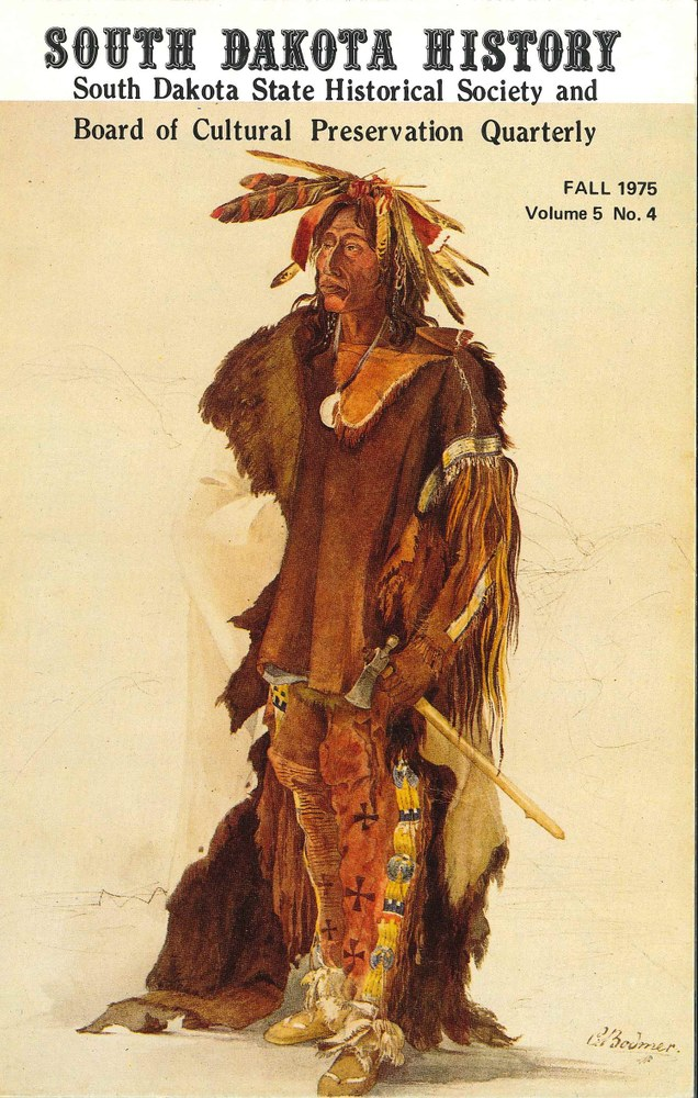 South Dakota History, volume 5 number 4