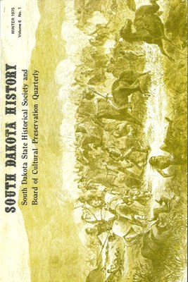 South Dakota History, volume 6 number 1