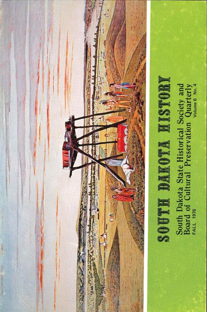 South Dakota History, volume 6 number 4