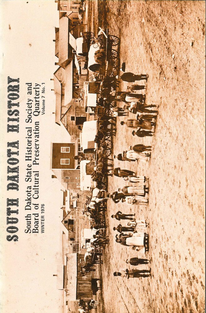 South Dakota History, volume 7 number 1