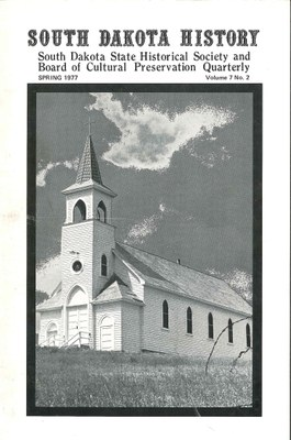 South Dakota History, volume 7 number 2