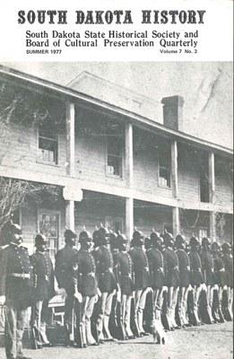 South Dakota History, volume 7 number 3