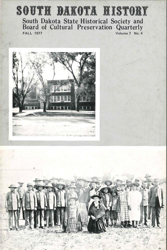 South Dakota History, volume 7 number 4