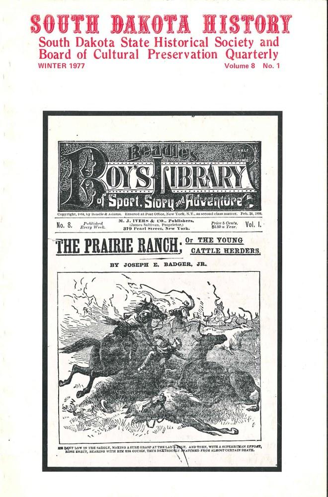 South Dakota History, volume 8 number 1