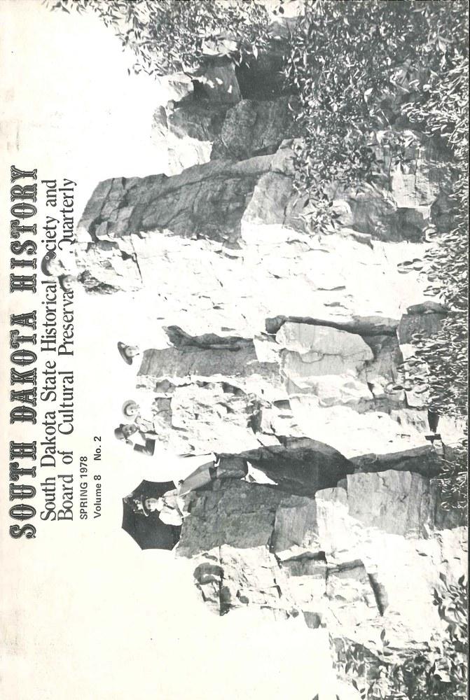 South Dakota History, volume 8 number 2