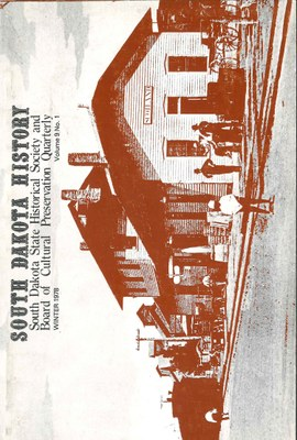 South Dakota History, volume 9 number 1