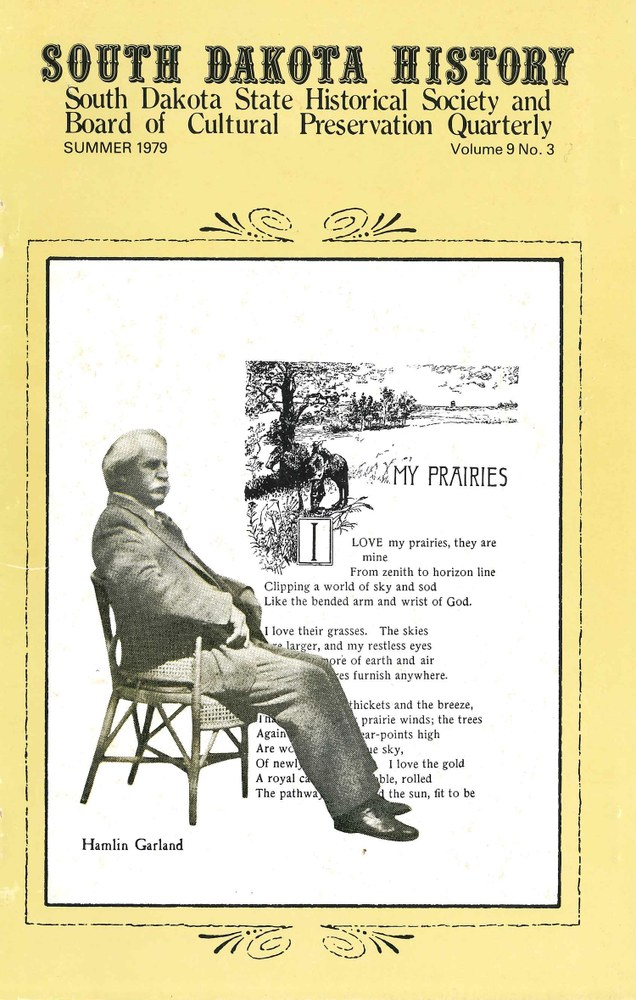 South Dakota History, volume 9 number 3